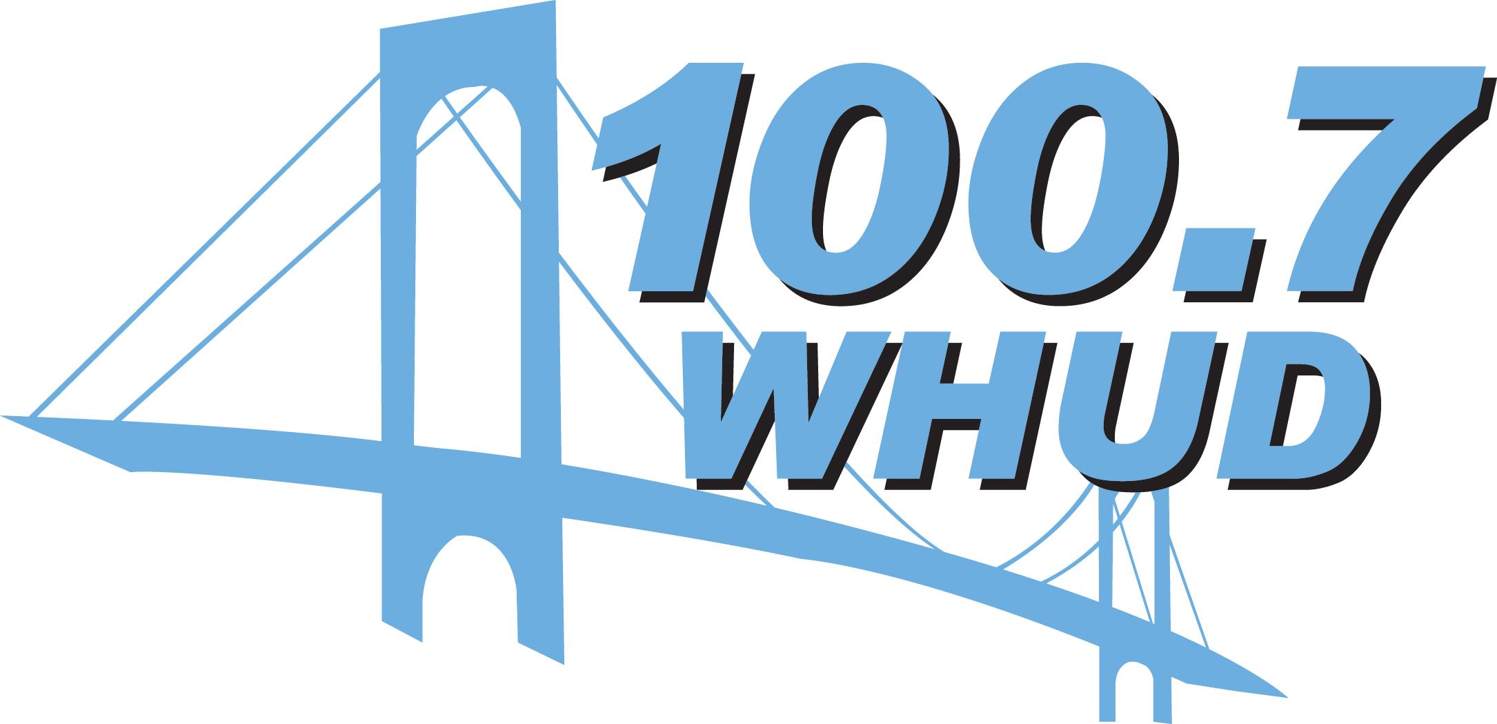 W H U D 100.7 Logo